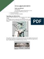 SOP_Install IDE-Hard Drive