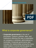 Corporate Governance Summary