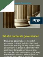 Corporate Governance Summary