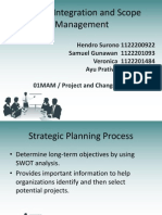 Project Integration and Scope Management Final - 2