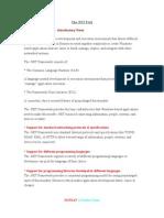 FAQ in DotNet