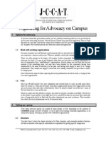 02a) USA Organizing for Advocacy on Campus