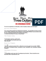 Three Dollars (2005) -  Reviews