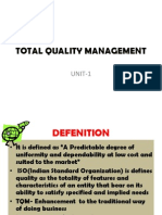 Total Quality Management-1
