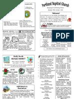 pbc bulletin - october 30