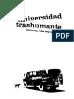 Universidad Trashumante (territorios, redes, lenguajes) - Colectivo Situaciones