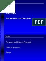 Derivatives an Overview
