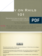 Ruby on Rails 101 Presentation Slides for a Five Day Introductory Course 119407436077654 3