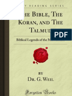 The Bible the Koran and the Talmud