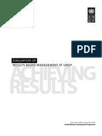 RBM Evaluation