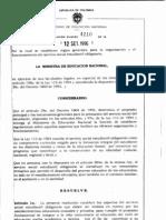 1. Servicio Social Obligatorio Resolucion 4210 Del 12 de Sep. 1996