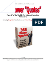365 Power Quotes