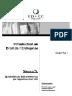 Droit de l'Entreprise > Scéance 3 > séance 3