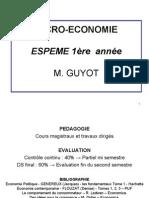 Micro > Scéance 1 > I Micro économie séance 1