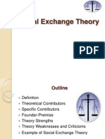 Social Exchange Theory Power Point