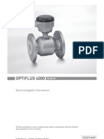 Optiflux 4000 Handbook