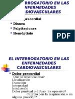 El Interrogatorio en Las Enfermedades Cardiovasculares