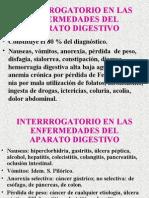 Interrogatorio en Enfermedades Digestivas