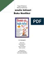 B. Indonesia - Intisari Buku Nonfiksi