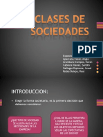 Clases de Sociedades - Expo Sic Ion