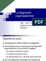Le Diagnostic Organisationnel