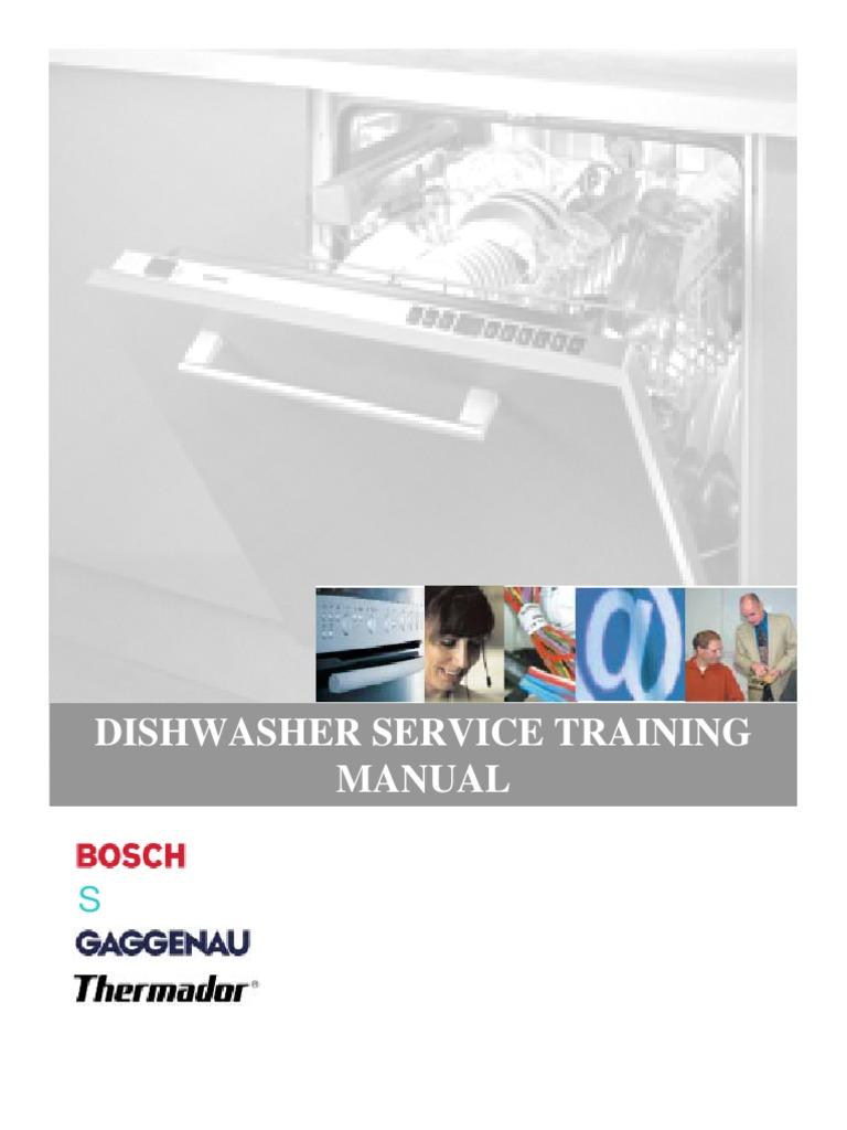bosch dishwasher service training dishwasher water heating. Black Bedroom Furniture Sets. Home Design Ideas