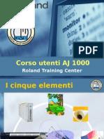 Corso AJ1000 5 Elementi