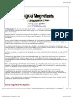 Agua Magnetizada - Articulo Del Dr. J. Amat