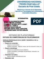 ESTUDIO DE PLATAFORMAS