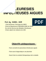 Pleuresies Infectieuses Aigues Patho.