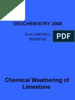 Geochemistry 2008 Sunum