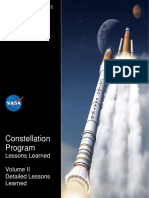 Constellation Program Lessons Learned Vol II Detailed Lessons Learned