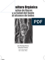 Agricultura Organica Harina de Rocas y Salud Del Suelo