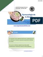 Farmacologia de la Alergia René Castillo 2008