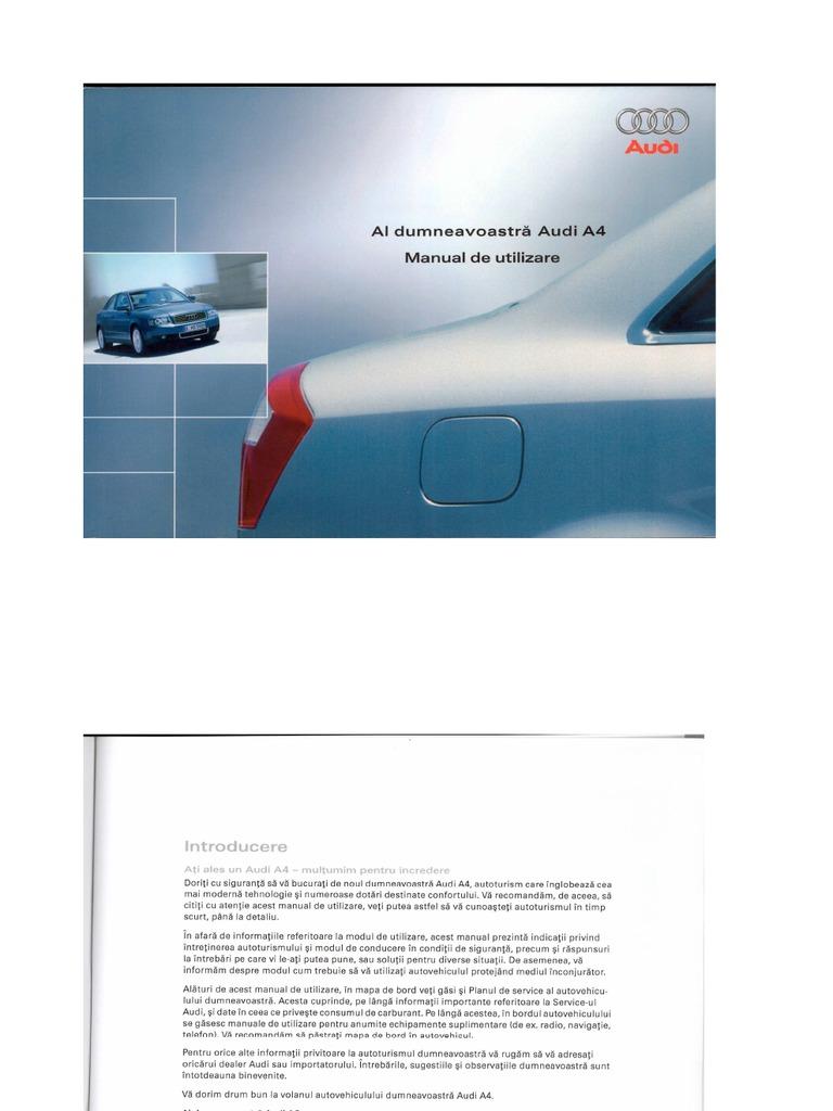 manual de utilizare audi a4 b6 rh scribd com 2005 Audi 14T Audi Allroad Wheels