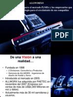 Alllworx-End User Presentation January_09 Espanol