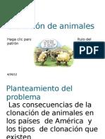 Clonación de animales
