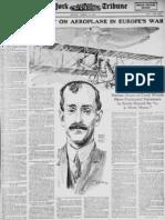 Wright Brothers Aeroplane (1915)