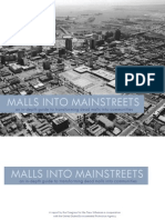 Malls Into Main Streets