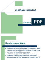 Synchronous Motors