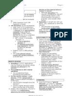 Admin Checklist