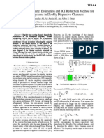 A Multistage Channel Estimation and ICI Reduction Method For