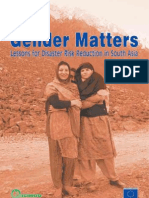 Icimod-gender Matters- Lessons for Disaster Risk Reduction in South Asia