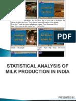 Milk Production Presentation