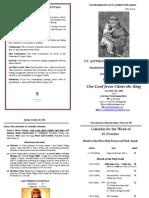 Bulletin 2011-10-30
