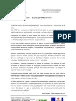 Reflexão Arquivo - Organização e Manutenção
