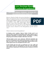 Why Are SB Interest Rates Deregulated?-VRK100-30Oct2011