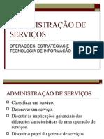 ADMINISTRAÇÃO DE SERVIÇOS MARKETING