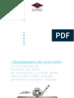 goniometro metrologia
