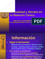 TRECEAVA SESION ad > ad y Secreto Profesional